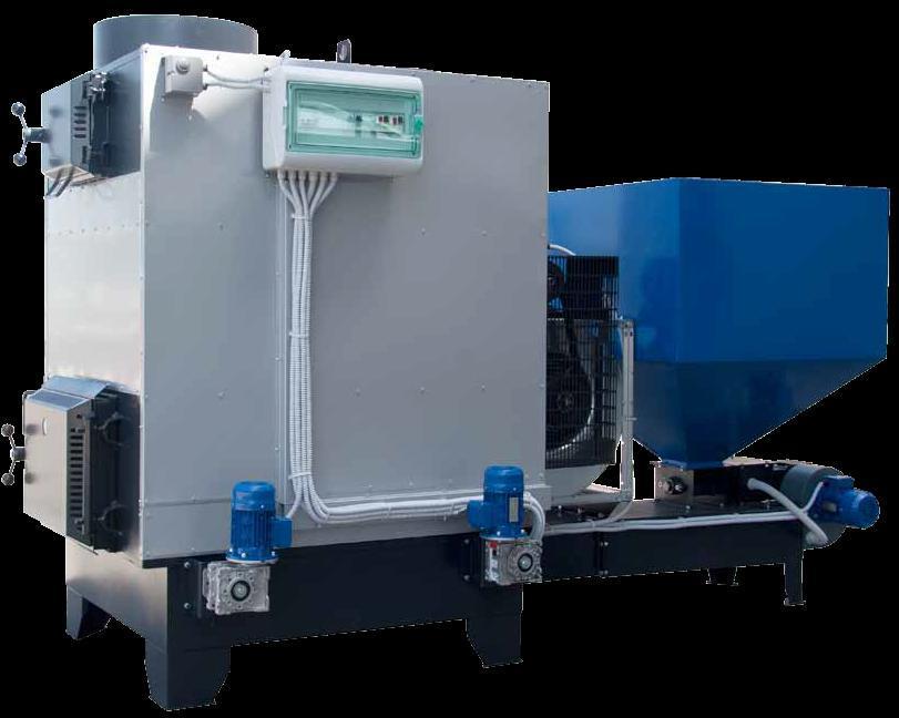 Generatori d 39 aria calda a biomassa for Scambiatore d aria